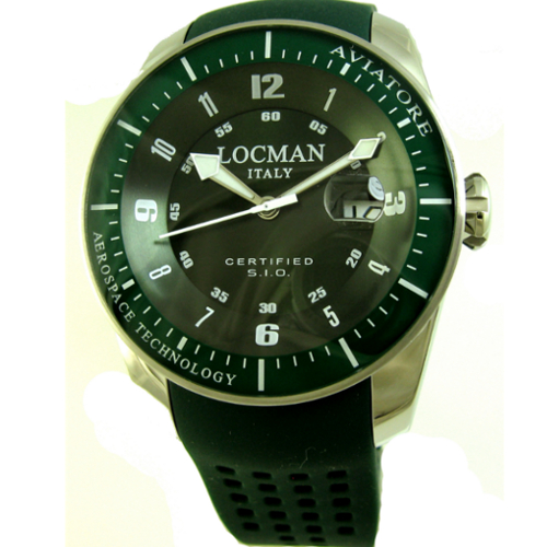 500 locman aviatore verde