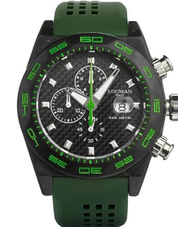 500 locman stealth 300 mt crono verde