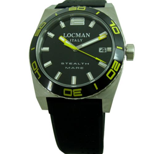 500 locman stealth mare nero giallo