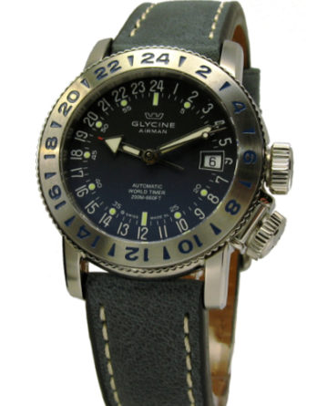 glycine airman 38mm 3918-18