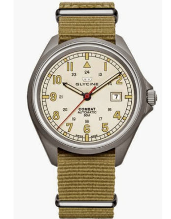 glycine combat 7 beige 3898-14AT7-TB3