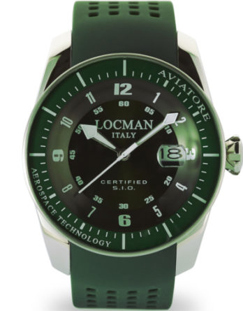 locman aviatore verde 0453V04-00GRSIG a