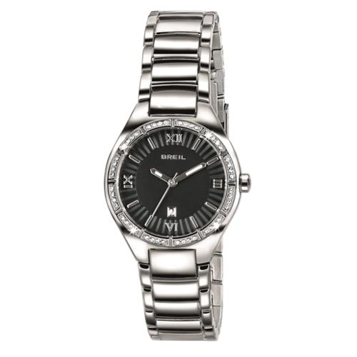 orologio Breil solo tempo donna Precious TW1499 quadrante nero