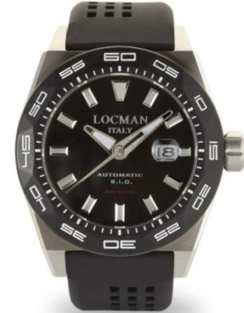 orologio locman stealt automatico 300 mt 0215V1-0KBKNKS2K a