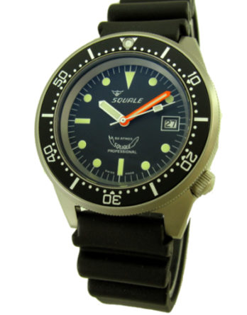 squale 1521 blasted rubber a