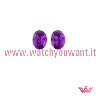 5089445 Bis Pierced Orecchini Swarovski Watch You Want Violet CrxWdBeo