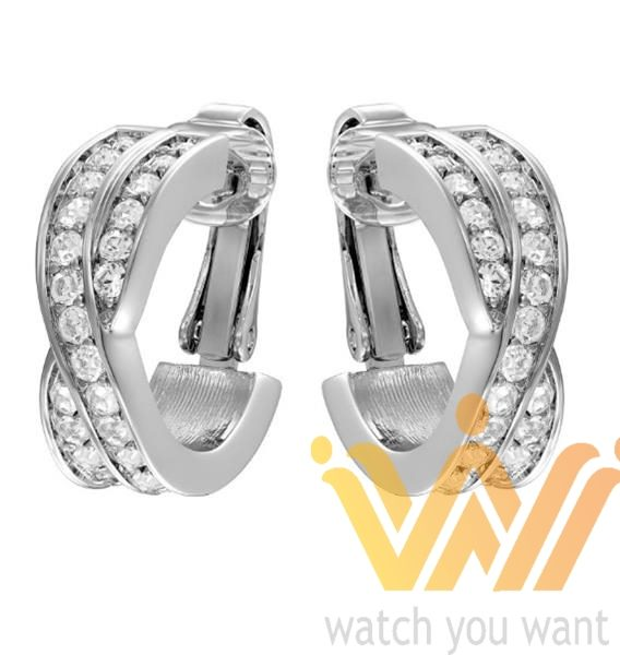 Orecchini Watch Edit You Swarovski Clip Want 1075335 TFKl3c1J