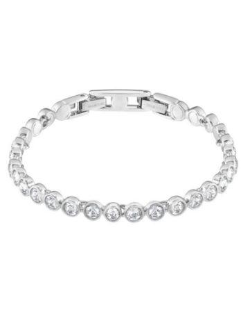 Swarovski-Tennis-Bracelet-White-Rhodium-Plating-1791305