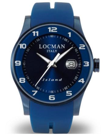 locman island blu 0600BLBW-BLW2SIB a