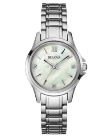 bulova 96P152 diamonds lady