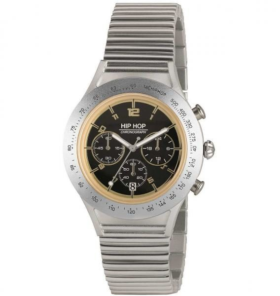 Orologio - Hip Hop per Uomo Collection Aluminium Chrono SILVER ...