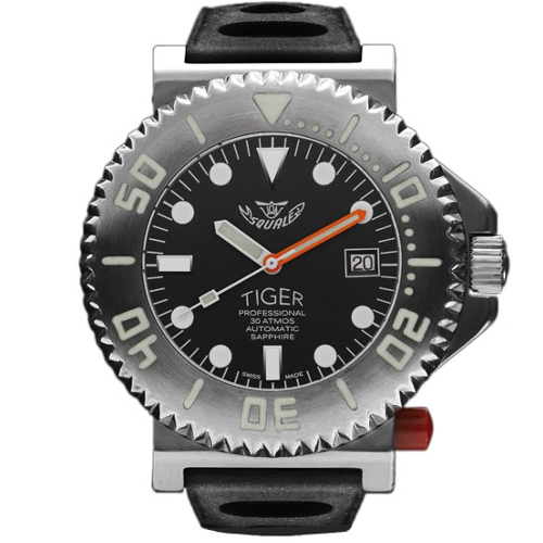 squale new tiger black