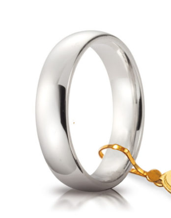unoaerre comoda oro bianco 5 mm