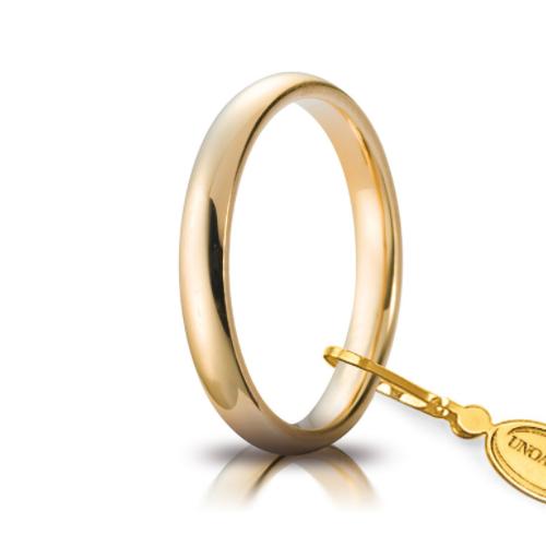 unoaerre comoda oro giallo 3 mm