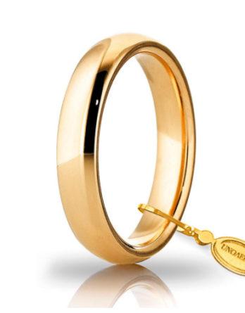 unoaerre comoda oro giallo 4 mm
