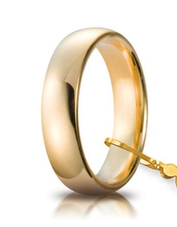 unoaerre comoda oro giallo 5 mm