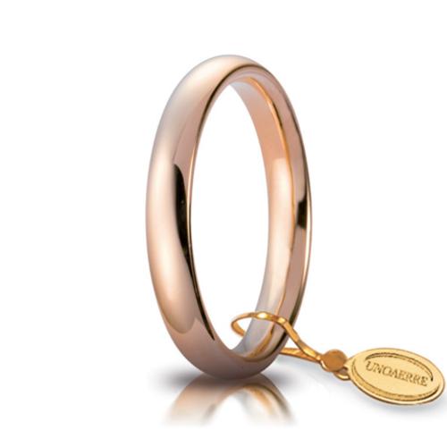 unoaerre comoda oro rosa 3 mm