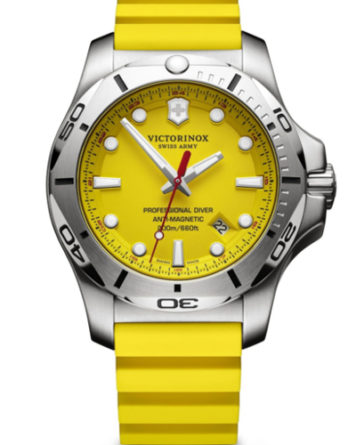victorinox 241735 inox diver giallo