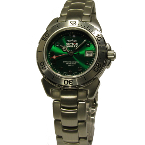 Orologio sector 450 lady verde