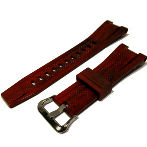 casio strap g-steel GST-210M-4A rosso lucido 500