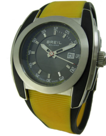 orologio breil uomo cinturino giallo