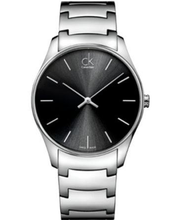 500 CK Calvin Klein K4D21141 Classic Man acciaio nero
