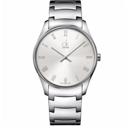 500 CK Calvin Klein K4D2114Z Classic Man acciaio bianco