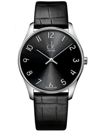 500 CK Calvin Klein K4D211CX Classic Man pelle nero