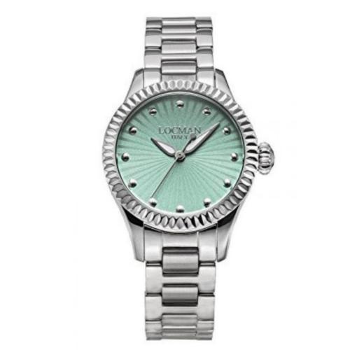 orologio Locman Isola d'Elba Lady verde acqua 0465A12A-00GANKB0