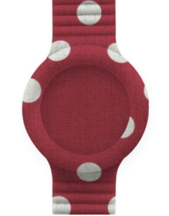 cinturino HIP HOP HBU0419 Red Pois