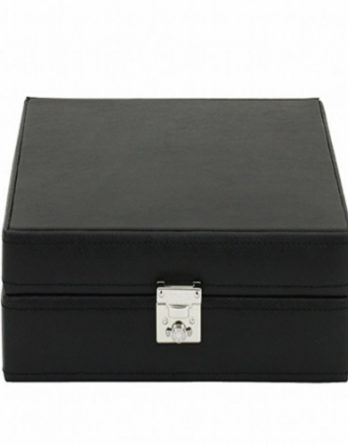 500 scatola porta orologi nero 8 posti a