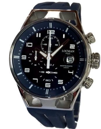 500 locman montecristo 41 mm crono blu a