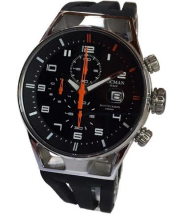 500 locman montecristo 41 mm crono nero