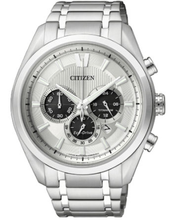 Citizen CA4010-58A crono supertitanio quadrante chiaro