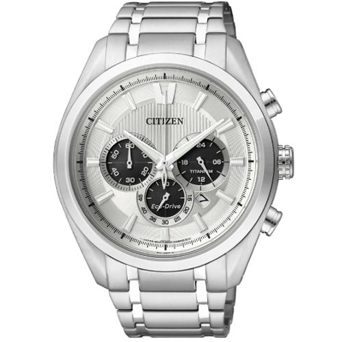 Citizen CA4010-58A crono supertitanio quadrante chiaro