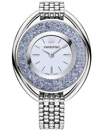 d272ee6d5d Orologio donna con bracciale in acciaio e cristalli blu Orologio – Swarovski  Crystalline ...