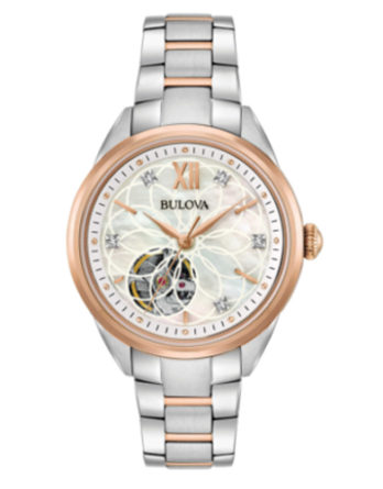 bulova 98P170 Diamonds automatico lady con diamanti