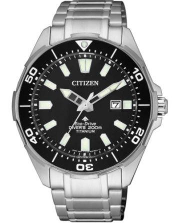 citizen BN0200-81E promaster super titanium quadrante nero sub 200 mt