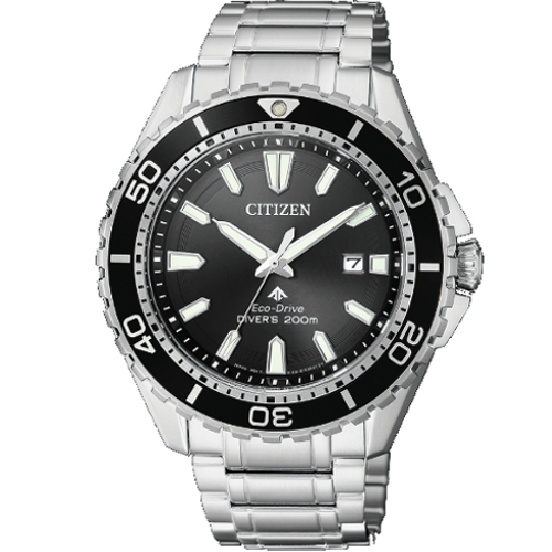 citizen BN0200-81E supertitanio diver's 200 mt nero