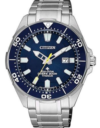 citizen BN0201-88L promaster super titanium quadrante blu sub 200 mt