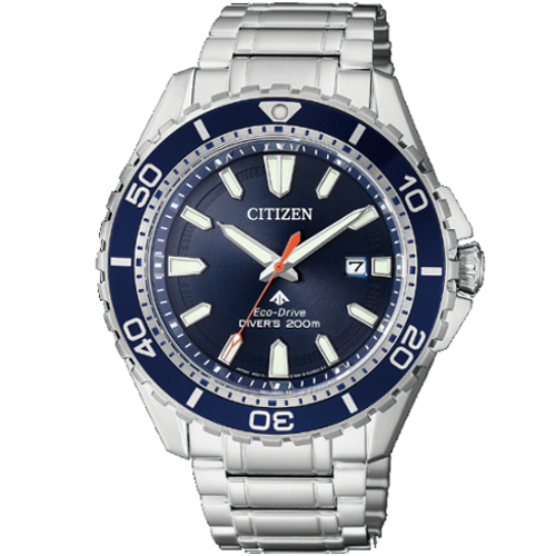 citizen BN0201-88L supertitanio diver's 200 mt blu