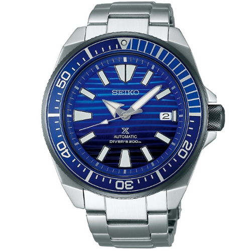 Seiko SRPC93K1 samurai save the ocean