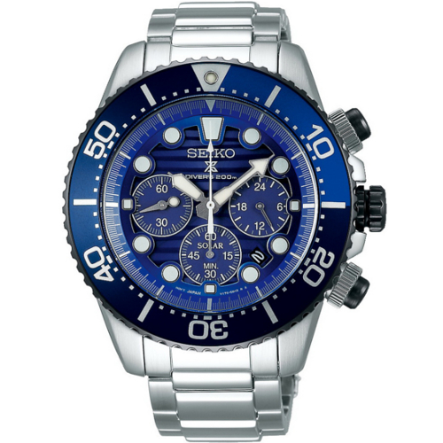 Seiko SSC675P1 crono solare save the ocean