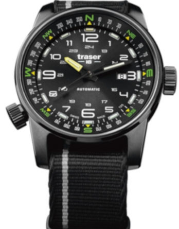 Traser H3 P68 Pathfinder automatic black aa