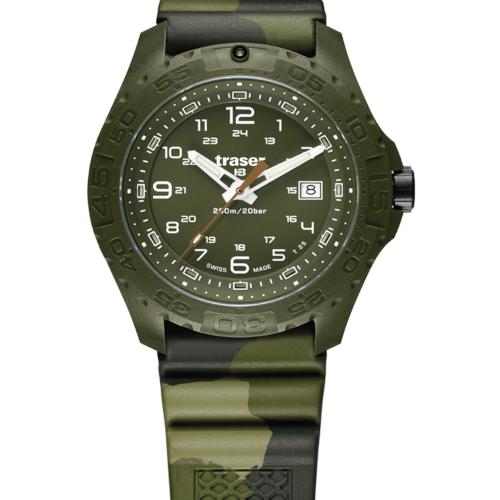 Traser H3 P96 Soldier Caucciù camouflage a
