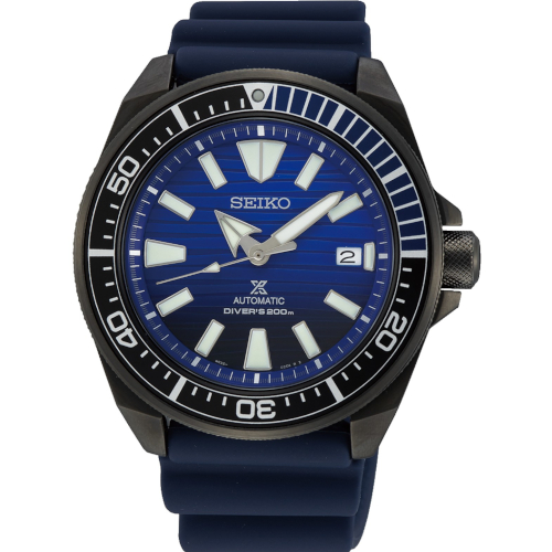 Seiko SRPD09K1 Save the ocean Samurai black series