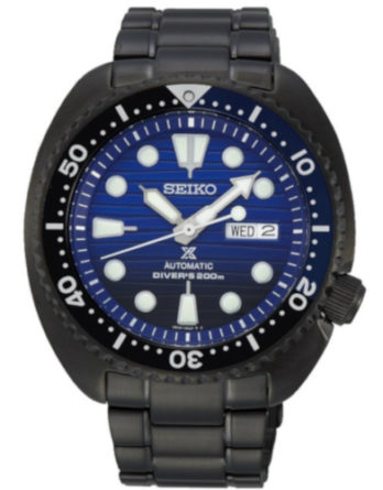 Seiko SRPD11K1 Save the ocean Turtle black series a