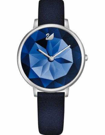 orologio Swarovski -5416006 quadrante blu cinturino blu
