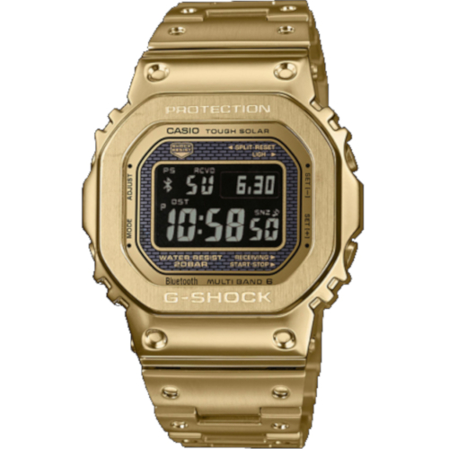casio g-shock GMW-B000GD-9ER dorato con display negativo