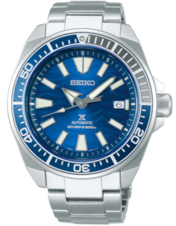 SEIKO SRPD23K1 samurai save the ocean white shark